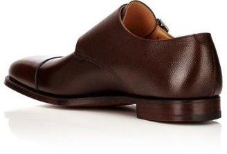 Crockett Jones Crockett & Jones Men's Lowndes Double-Monk-Strap Shoes-DARK BROWN