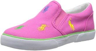 Polo Ralph Lauren Kids unisex-child Bal Harbour Repeat Slip-On Sneaker