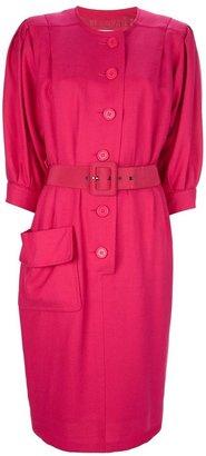 Yves Saint Laurent Vintage belted dress