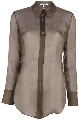 Carven sheer blouse