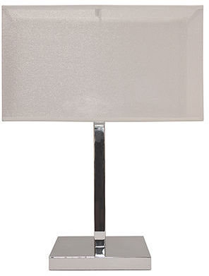 Sharper Image Accent Lamp, Two-tiered Shade