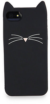 Kate Spade Black Cat Softcase For iPhone 5