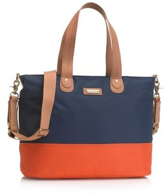 Storksak Infant Colorblock Diaper Bag - Blue