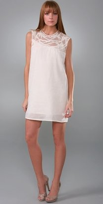Rory Beca Embroidered Sleeveless Dress