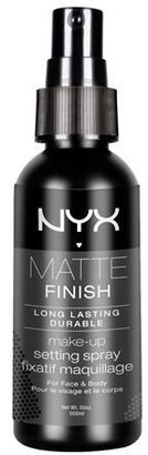 NYX Cosmetics Make Up Setting Spray, Matte Finish/Long Lasting, 2.03 Ounce $8 thestylecure.com