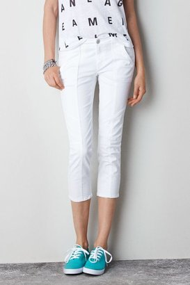 American Eagle Outfitters White Jegging Crop, Womens 00 By