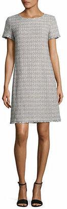Max Mara Ezor Woven Short Sleeve Dress