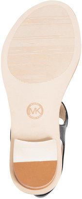 MICHAEL Michael Kors MK Plate Flat Thong Sandals