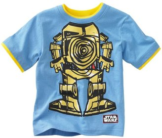 Star Wars mock-layer c3po tee - toddler