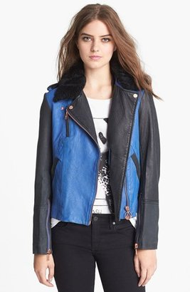 Eleven Paris ELEVENPARIS 'Trinite' Leather Jacket