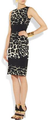 Roberto Cavalli Animal-print stretch-jersey dress