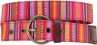 Ethnic Stripe Belt