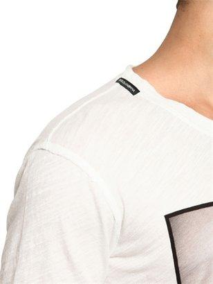 Dolce & Gabbana Minnie Mouse Print Cotton Jersey T-Shirt