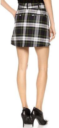 McQ by Alexander McQueen Alexander McQueen Front Pleat Skirt