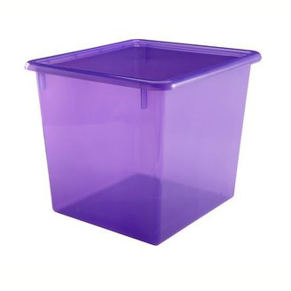 Baby Essentials Purple Cube Top Box