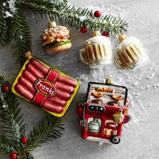 Sur La Table Backyard BBQ Ornaments, Set of 5