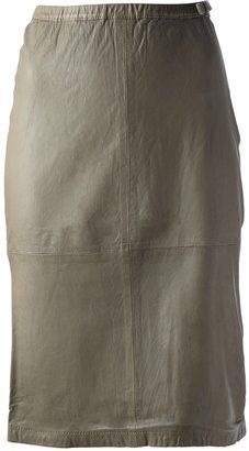 Humanoid 'Wamp Washed Skin' skirt