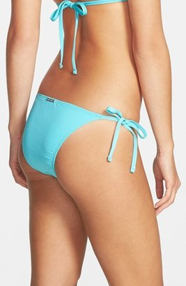 MICHAEL Michael Kors Studded Side Tie Bikini Bottoms