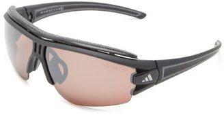 adidas A168/00 6072 Matte Black Evil Eye Halfrim Pro Wrap Sunglasses Cricket, C
