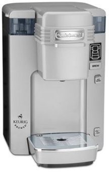Cuisinart 9.5-x13-x12.3-in. Single Serve Compact Coffee Maker