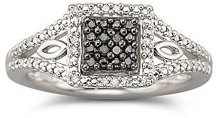 Black Diamond FINE JEWELRY 1/10 CT. T.W. Ring