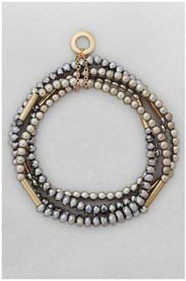 French Connection Sparkle Bead Bracelet