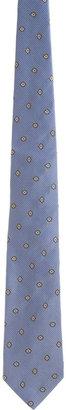 Barneys New York Check & Floral Tie