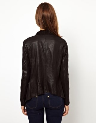Warehouse Zip Pocket Drape Jacket