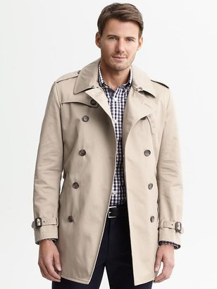 Banana Republic Essential belted trench