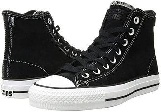 Converse Skate CTAS Pro Hi Skate (Black/Black/White 2) Shoes