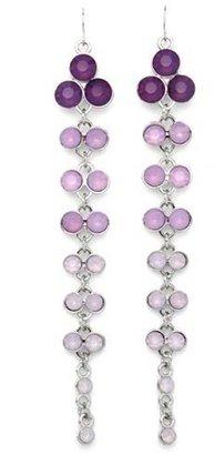 Charlotte Russe Beaded Beauty Dangle Earrings