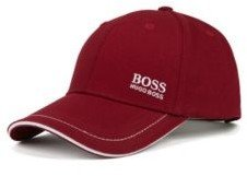 BOSS Baseball cap in cotton twill with embroidered logo