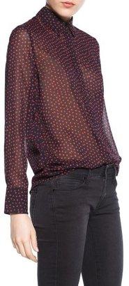 MANGO Outlet Printed Lightweight Shirt