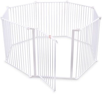 Regalo 4-In-1 Walk-Through Metal Play Yard