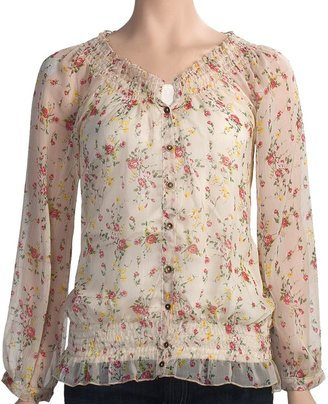 True Grit Vintage Chiffon Shirt - Long Sleeve (For Women)