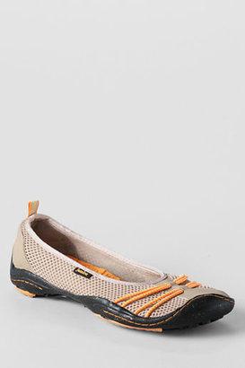 Lands' End Women's Jambu Spin Barefoot Ballerina Flat Shoes