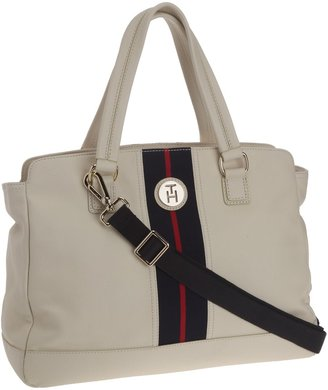 Tommy Hilfiger LIZZIE LARGE SATCHEL Handbag Womens