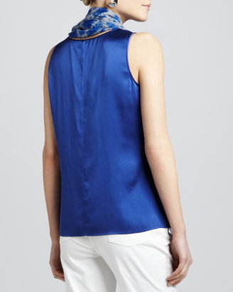 Eileen Fisher Charmeuse Soft Tank