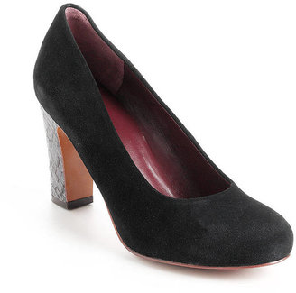 Marc by Marc Jacobs Suede High-Heeled Pumps