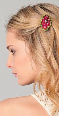Deepa Gurnani Bright Crystal Embellished Hair Clip