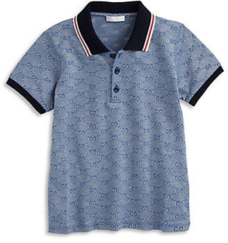 Gucci Little Boy's GG Polo Shirt