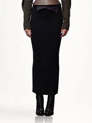 Haider Ackermann Wool Skirt
