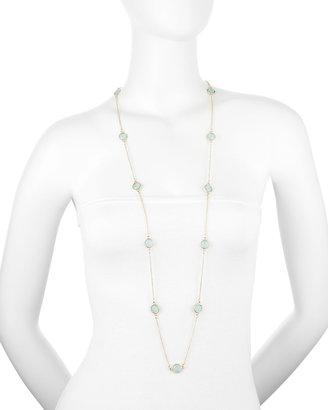 Fragments for Neiman Marcus Bezel Facet Long Chain Necklace