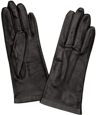 Dents Women's Silk Lined Leather Glove Black 7 UK