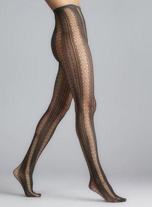 Me Moi Memoi Gargoyle Epic Lace Net Tights