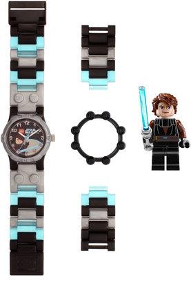Lego Kids Skywalker Minifigure Watch Set