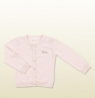Gucci Light Pink Knit Cardigan