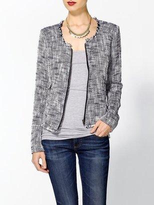 Joie Collis Two Tone Tweed Jacket