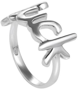 Sterling Silver Luck Ring - Silver