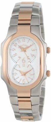 Philip Stein Teslar Women's 1TRG-FMOP-SSTRG Signature Two-Tone -Plated Stainless Steel Bracelet Watch